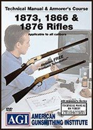 1873, 1866 & 1876 Rifles Technical Manual and Armorer's Course #1424 (DVD)