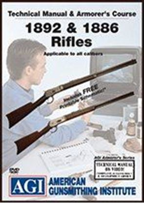 1892 & 1886 Rifles Technical Manual and Armorer's Course #1414 (DVD)