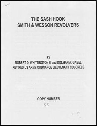 Sash Hook Smith & Wesson Revolvers, The