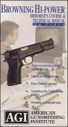Browning Hi-Power Armorer's Course, Maintenance and Technical Video (VHS)