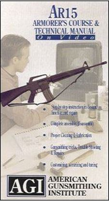 AR-15 Technical Manual and Armorer's Course #503 (DVD)