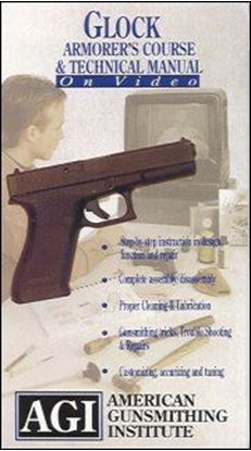Glock Pistols Armorer's Course, Maintenance and Technical Video #106 (VHS)