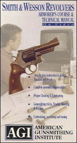 Smith & Wesson Revolvers Technical Manual and Armorer's Course #1084 (DVD)