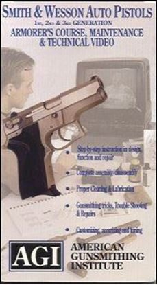 Smith & Wesson Auto Pistols 1st, 2nd, & 3rd Generation Armorer's Course, Maintenance, and Technical Video #117 (VHS)