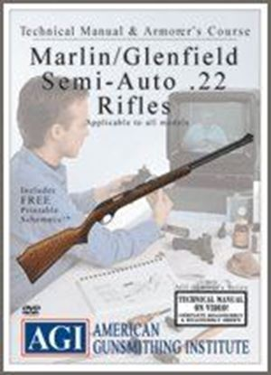 Marlin / Glenfield Semi-Auto .22 Rifles Technical Manual and Armorer's Course #1284 (DVD)