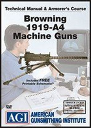 Browning 1919-A4 Machine Guns Technical Manual and Armorer's Course #4139 (DVD)