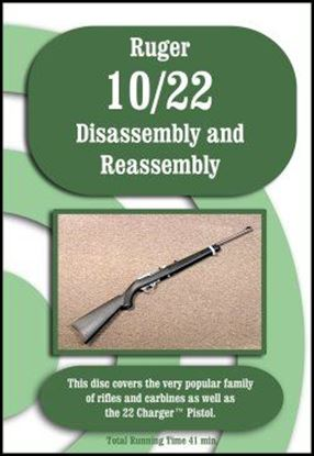 Ruger 10-22 Disassembly and Reassembly (DVD)