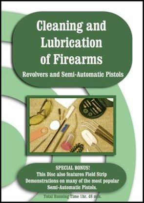 Cleaning And Lubrication of Firearms (DVD)
