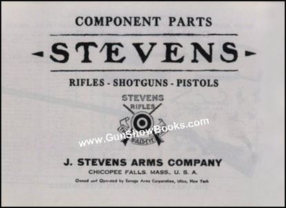 Stevens Component Parts - Rifles, Shotguns, and Pistols
