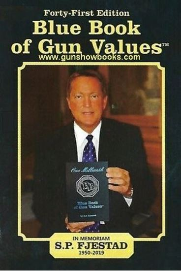 Picture of Blue Book of Gun Values 41st Edition 2020-2021